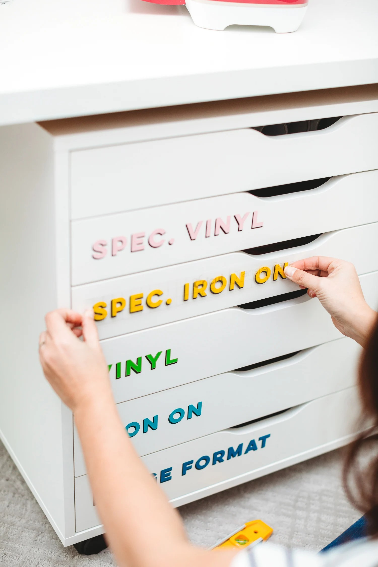 How to Use Cricut Iron On Vinyl - Hey, Let's Make Stuff