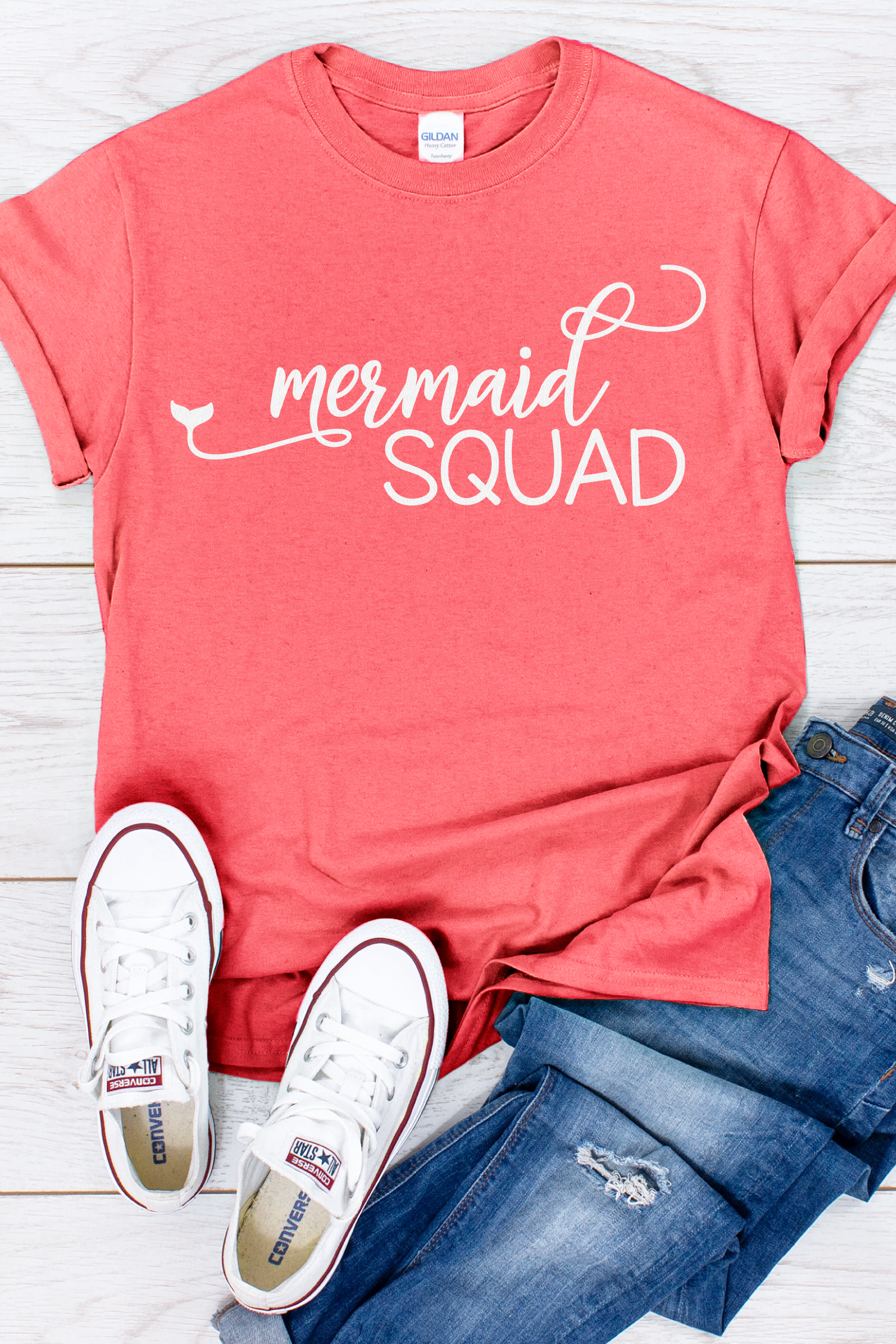 Why be a princess when you can be a mermaid? This Mermaid SVG Bundle will help you unleash your magical ocean vibes, just in time for summer.