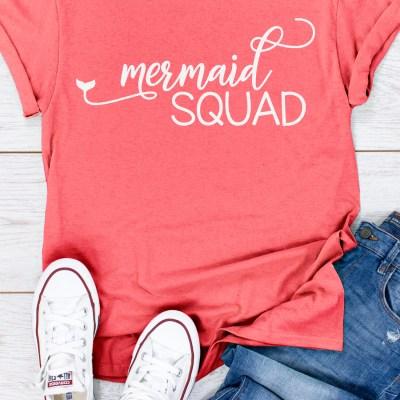 Mermaid SVG Bundle – 4 Cut Files