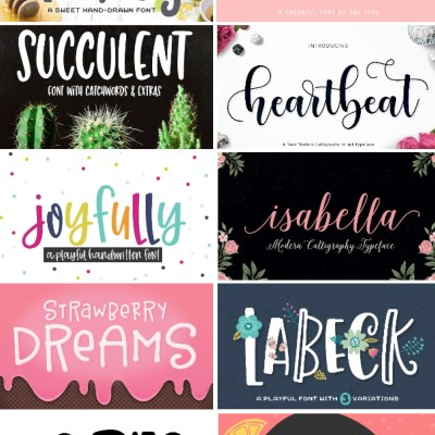 Where to Find Cheap and Free Fonts for the Cricut