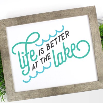 Lake Life SVG Bundle