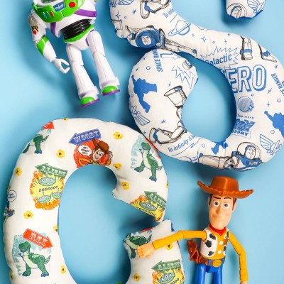 Toy Story Alphabet Stuffies with the Cricut Maker