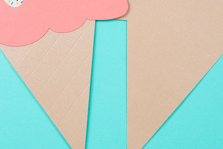 Difference between deboss tool on the front and back of cardstock