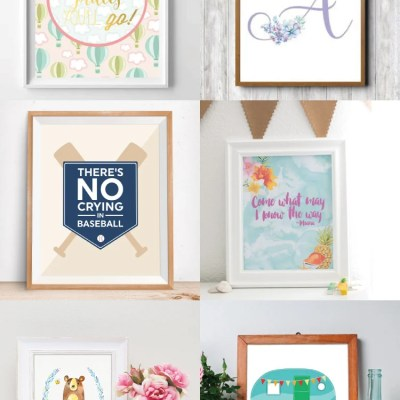 The Best Free Nursery Printables