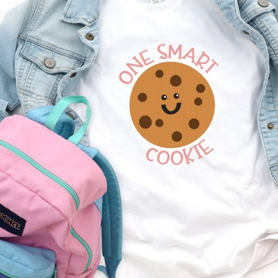 One Smart Cookie SVG + 15 FREE Back to School Cut Files