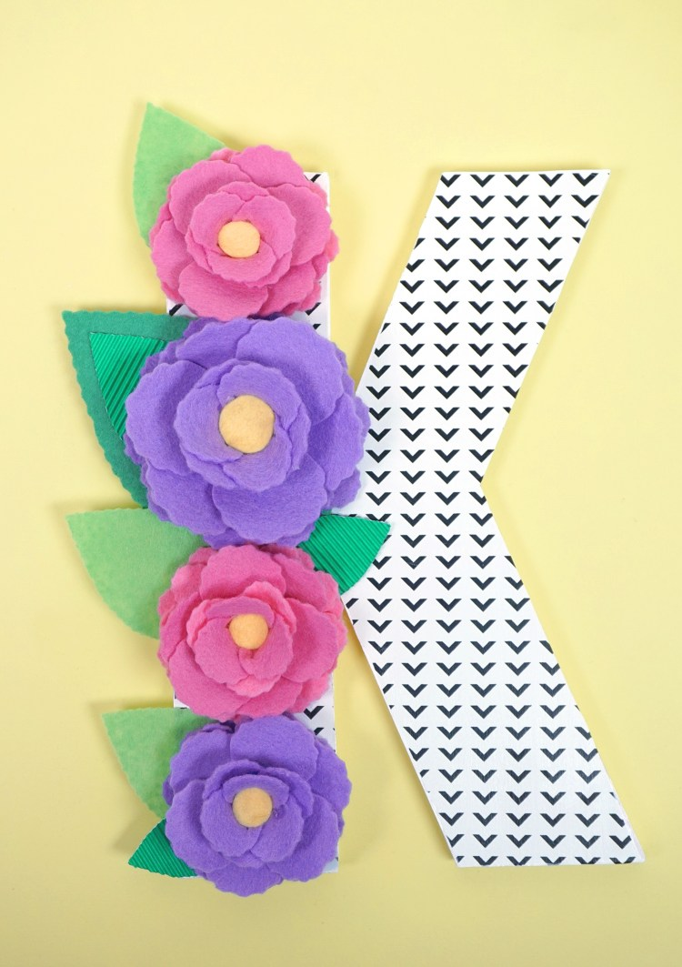 Add a floral touch to your favorite letters and make a statement piece in for any room in your home. Create these floral monogram letters with this tutorial from happinessishomemade.net.