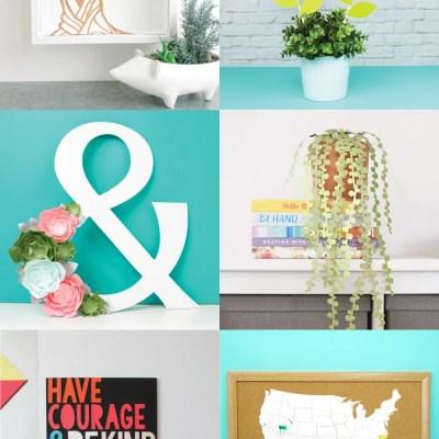 Home Decor Ideas with the Cricut