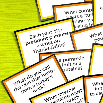 Free Printable Thanksgiving Trivia
