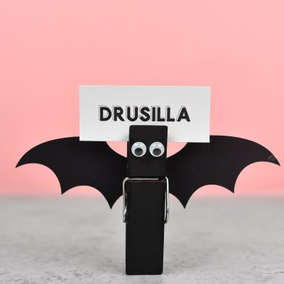 Bat Halloween Place Cards
