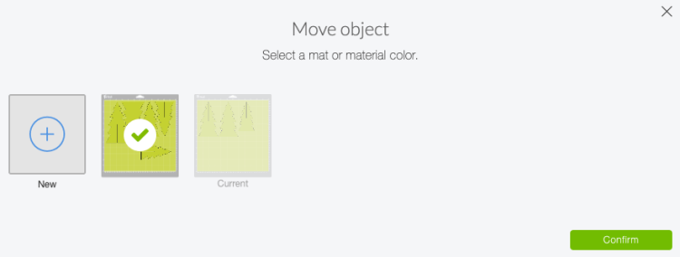 Move object tool