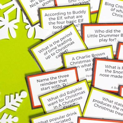Free Printable Christmas Trivia