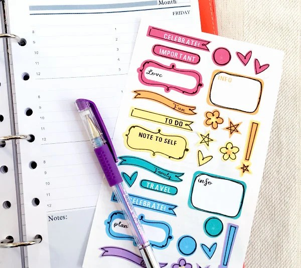 The new year is the perfect time to get your planning game on point! Check out this crafty collection of Planner Projects with the Cricut!