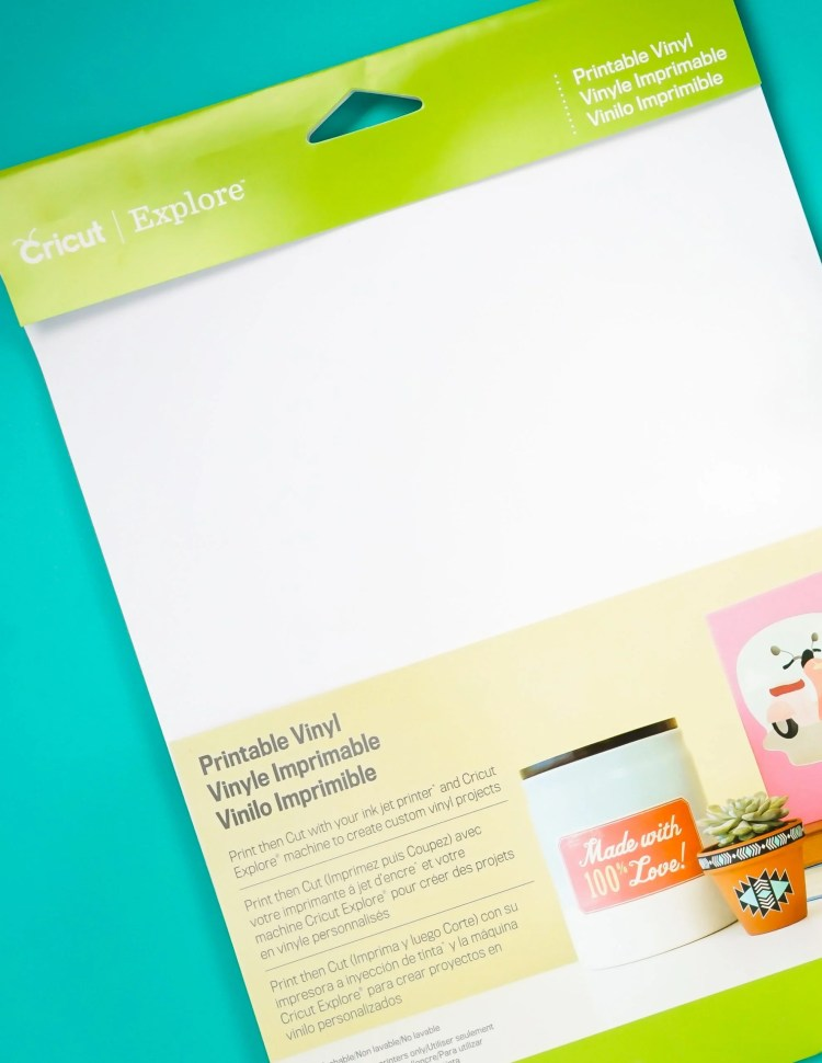 Cricut Printable Vinyl from JOANN
