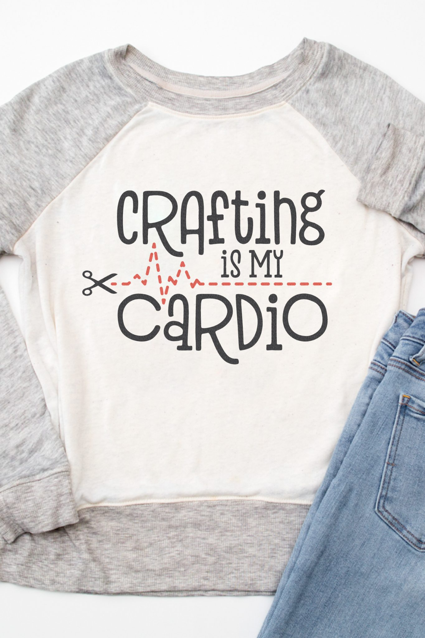 If you're burning calories in your craft room, this Crafting is My Cardio is for you! This free crafting SVG is perfect for t-shirts and hoodies, mugs for your pens, or an apron to protect you from glitter spills!