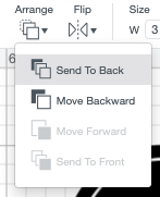 """Use Arrange tool in the top Edit Toolbar to """"send to back"""" so the circle is behind your label."""