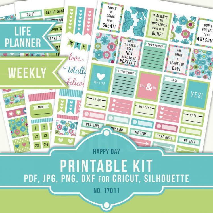 The Happy Planner Girls - Printable Kit