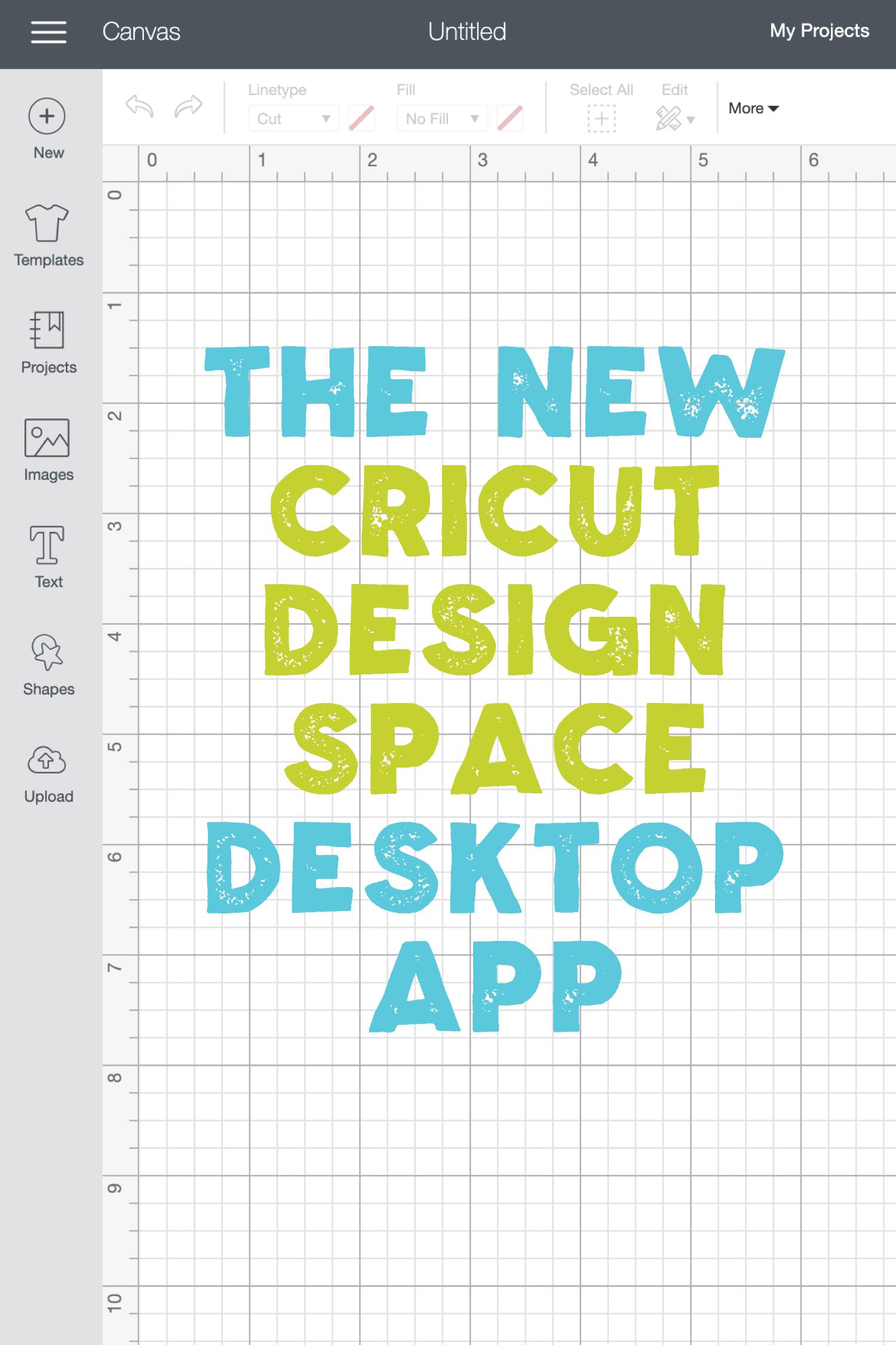 The Cricut Design Space Desktop App Working Offline