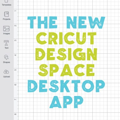 The Cricut Design Space Desktop App + Working Offline