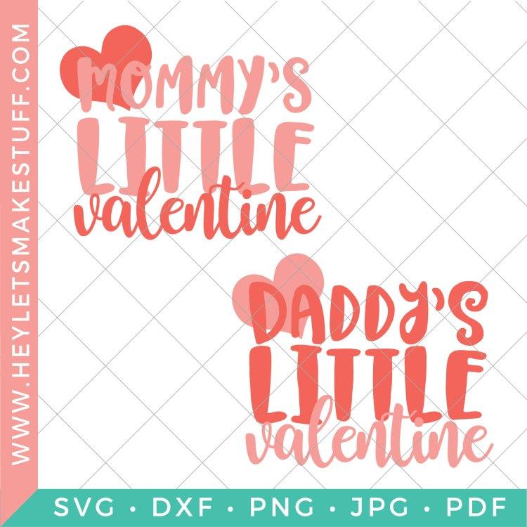 Little Valentine SVG images