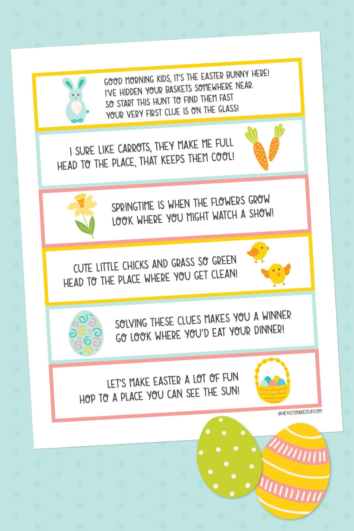 Printable Easter Bunny Letter During Covid 19