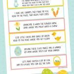Easter Scavenger Hunt Free Printable Clues Hey Let S Make Stuff