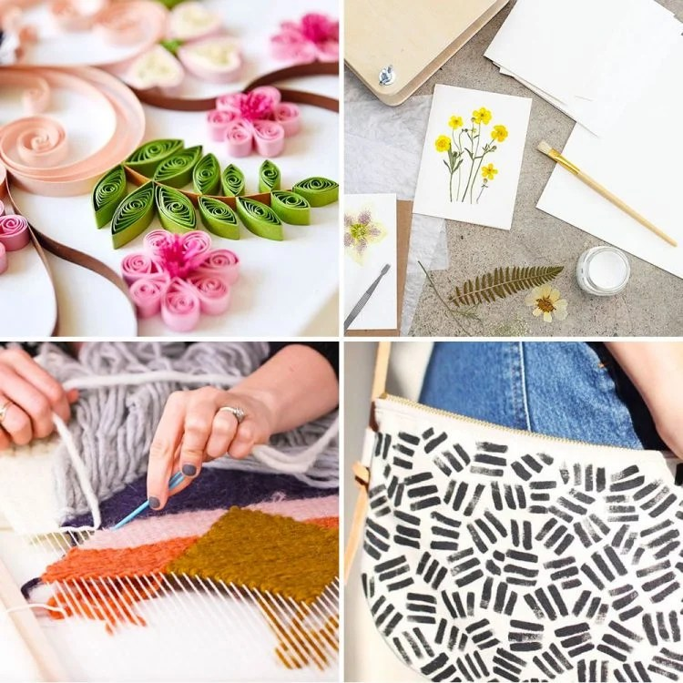 Collage of The Crafter's Box Projects