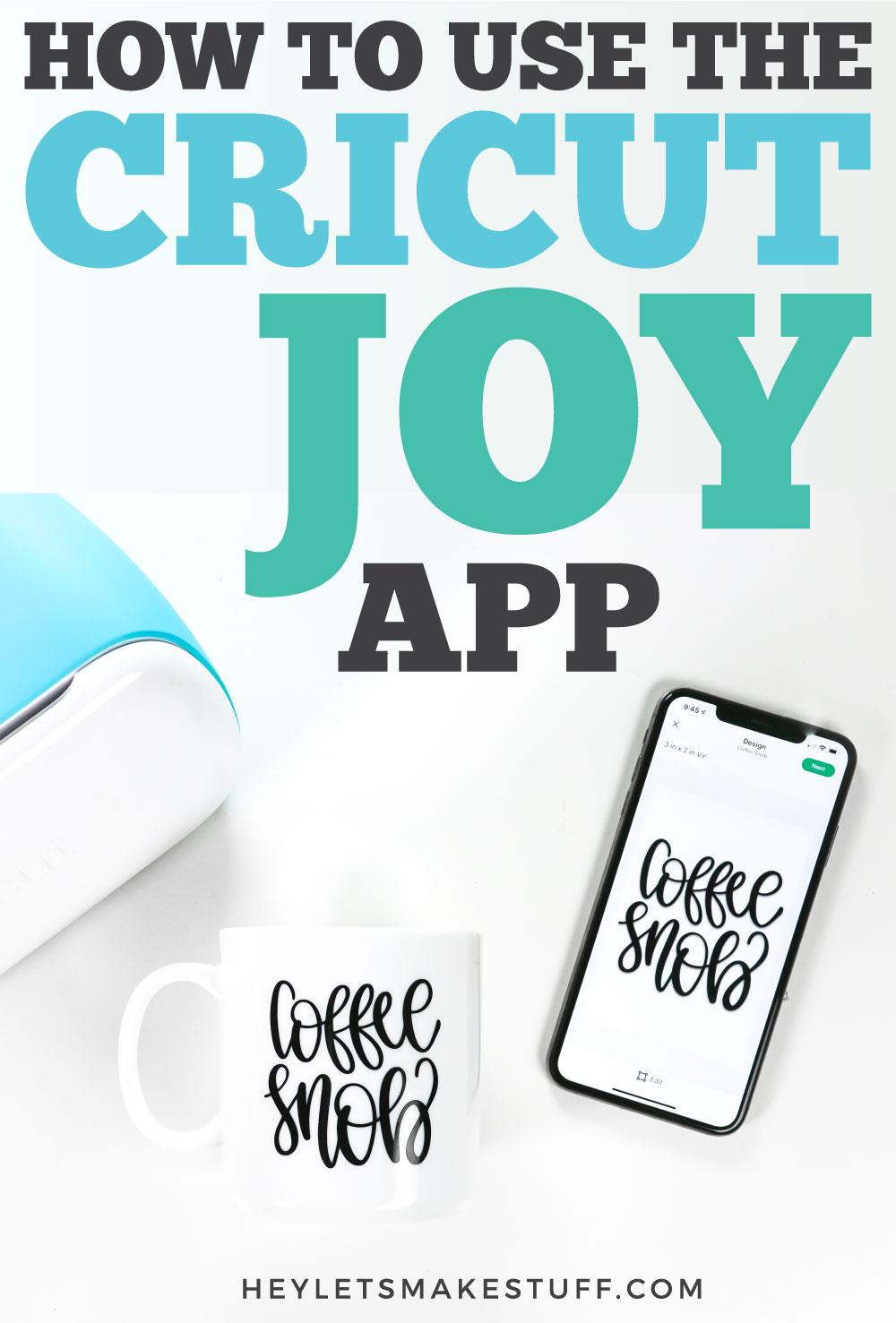 Cricut Joy App pin image