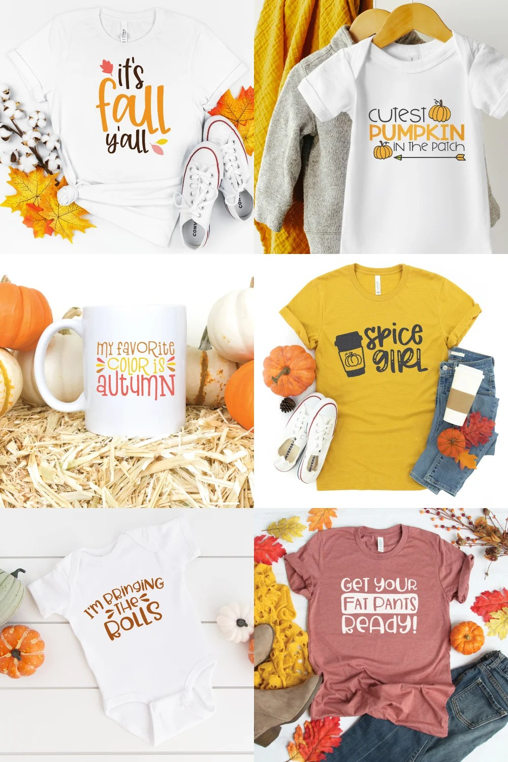 Say goodbye to summer and get ready for fall and the Thanksgiving season with this big cut file bundle! From turkey to pumpkin pie, this fall and thanksgiving SVG bundle has more than 40 cut files for all of your fall crafting.