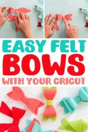 Felt Bows pin image