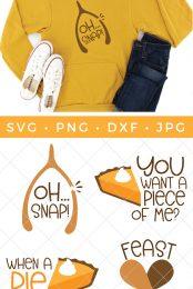 funny Thanksgiving SVG files