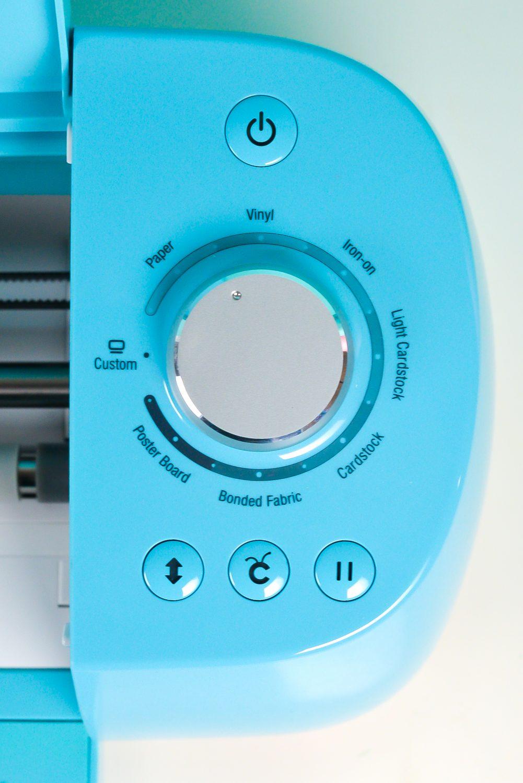 Cricut Explore Dial and Controls