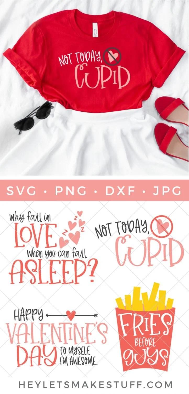 Snarky Valentine's Day SVG Bundle Pin image
