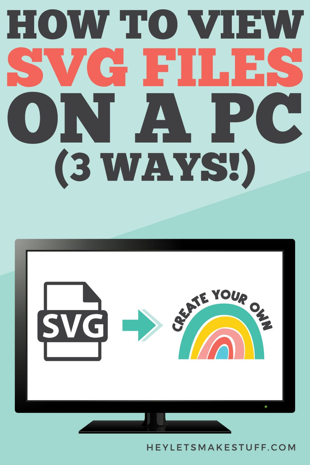 How to View SVG Files on a PC three ways pin image