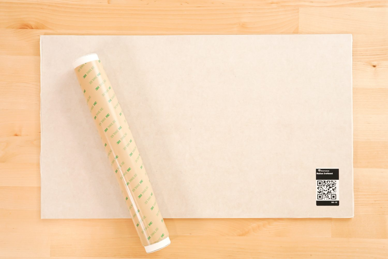 Draftboard and 3M adhesive roll
