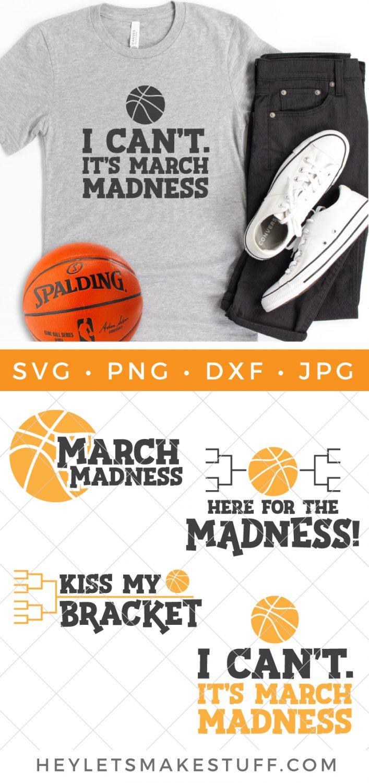March Madness SVG Bundle Pin Image