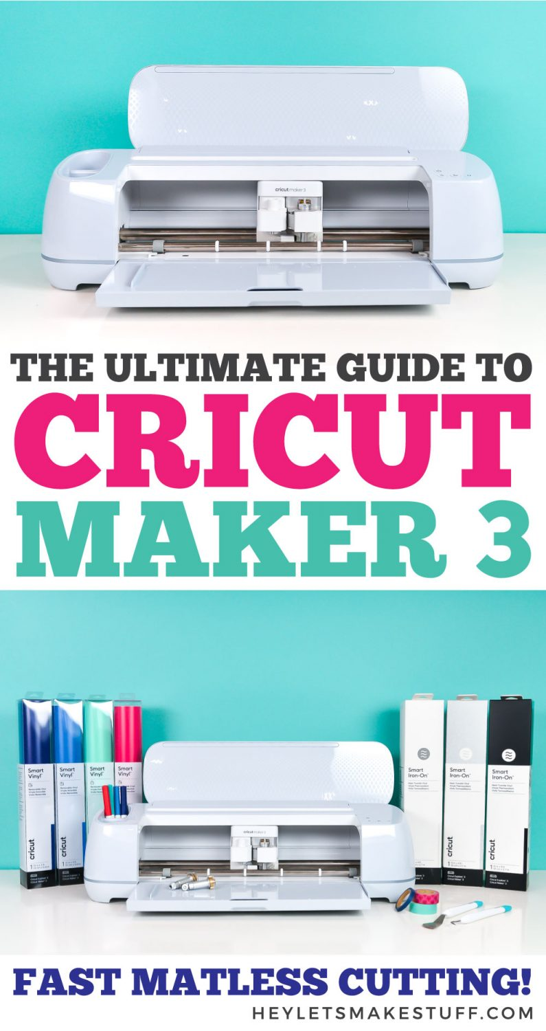 The Ultimate Guide to Cricut Maker 3 pin image