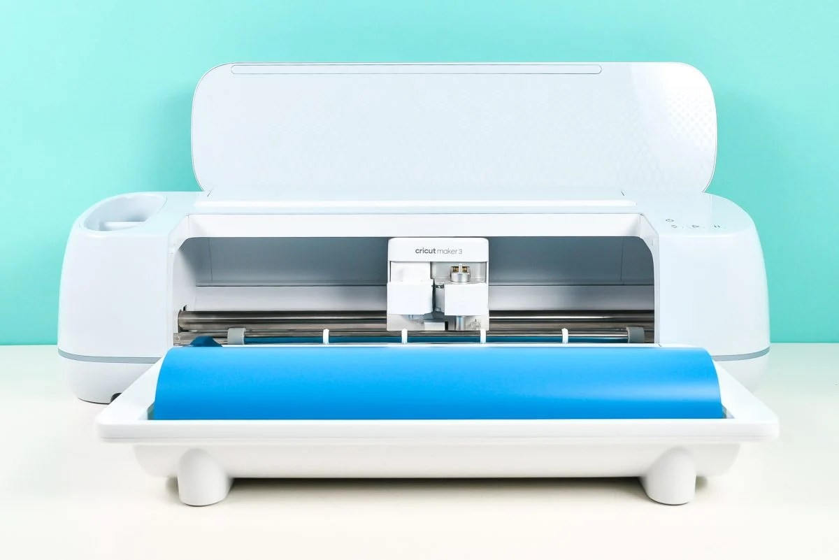 Cricut Maker 3 with Roll Holder attached