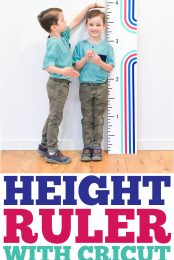 Height Ruler with Cricut Smart Vinyl pin image