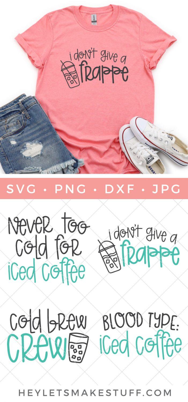 Iced Coffee SVG Bundle pin image