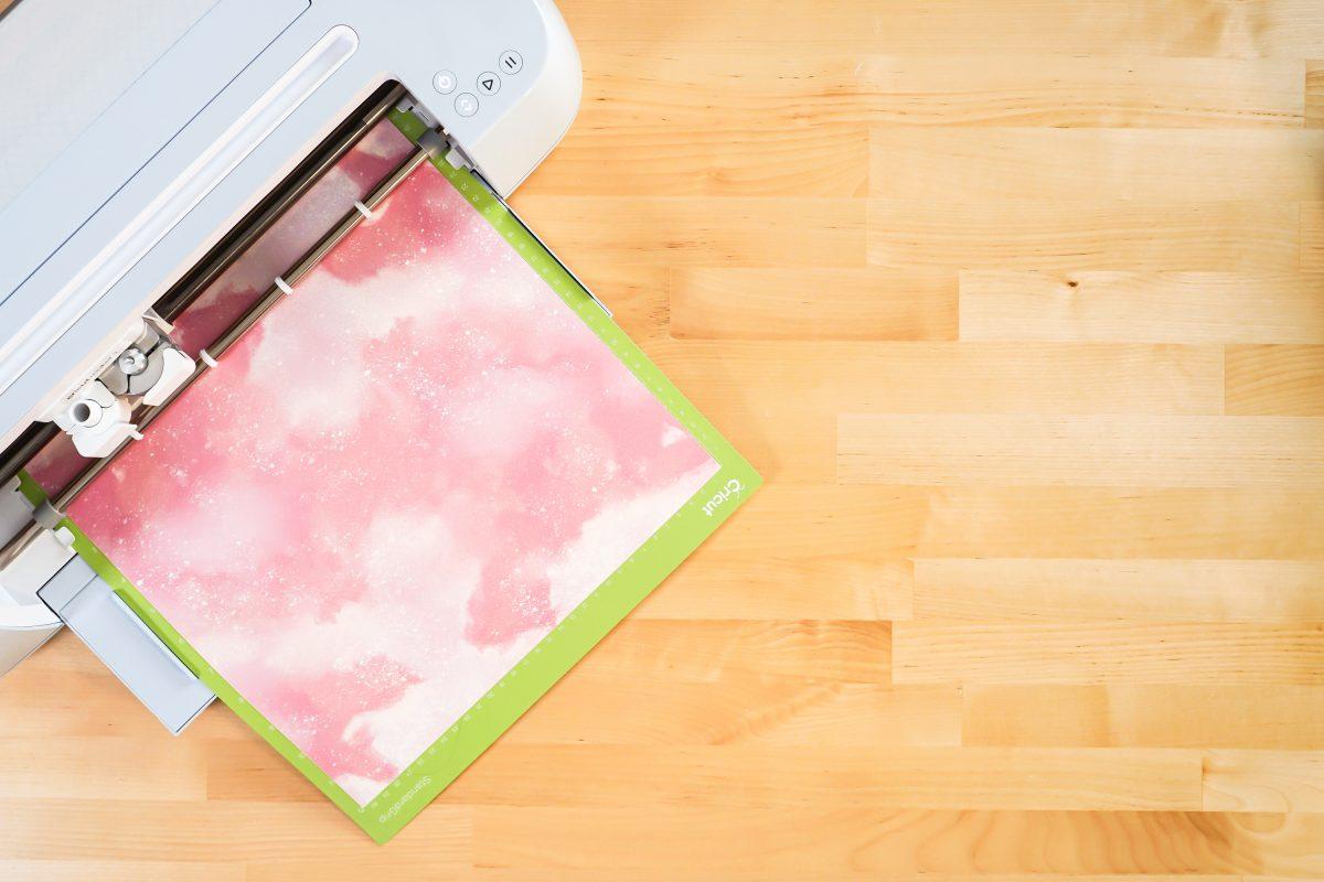 Cricut Maker 3 cutting infusible ink sheet