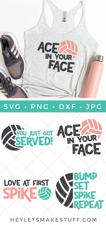 Volleyball SVG bundle pin image