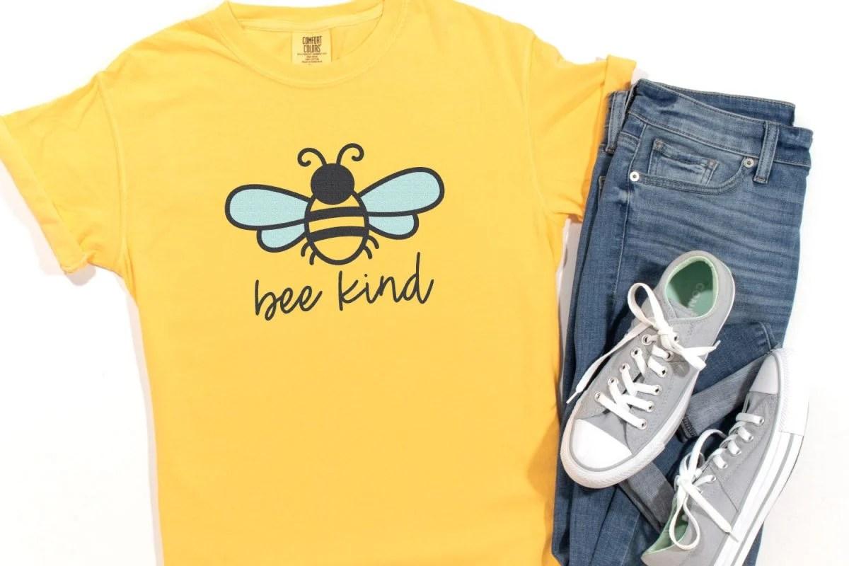 Bee Kind SVG image