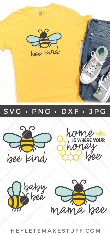 Bee SVG Bundle pin image