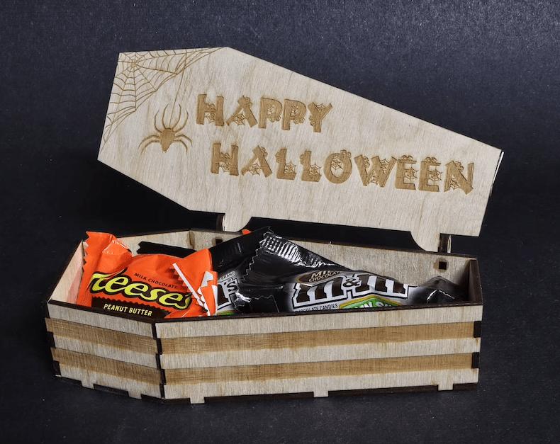 Coffin Candy Box - Timberland CNC