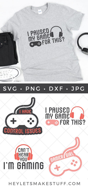 Gamer Bundle SVG pin image