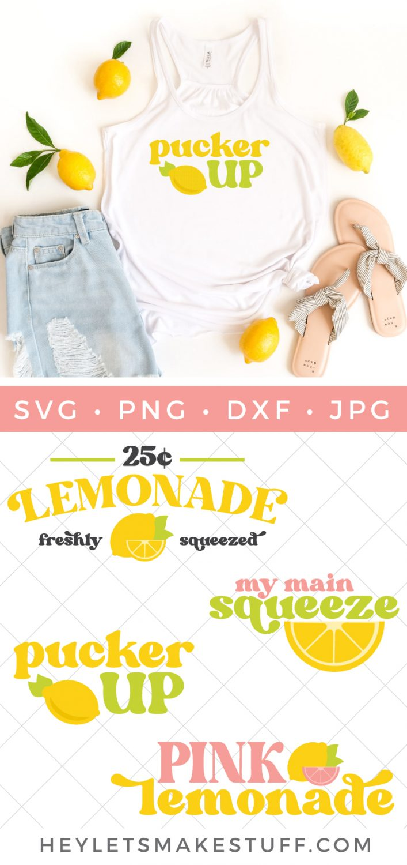 Lemonade bundle SVG image