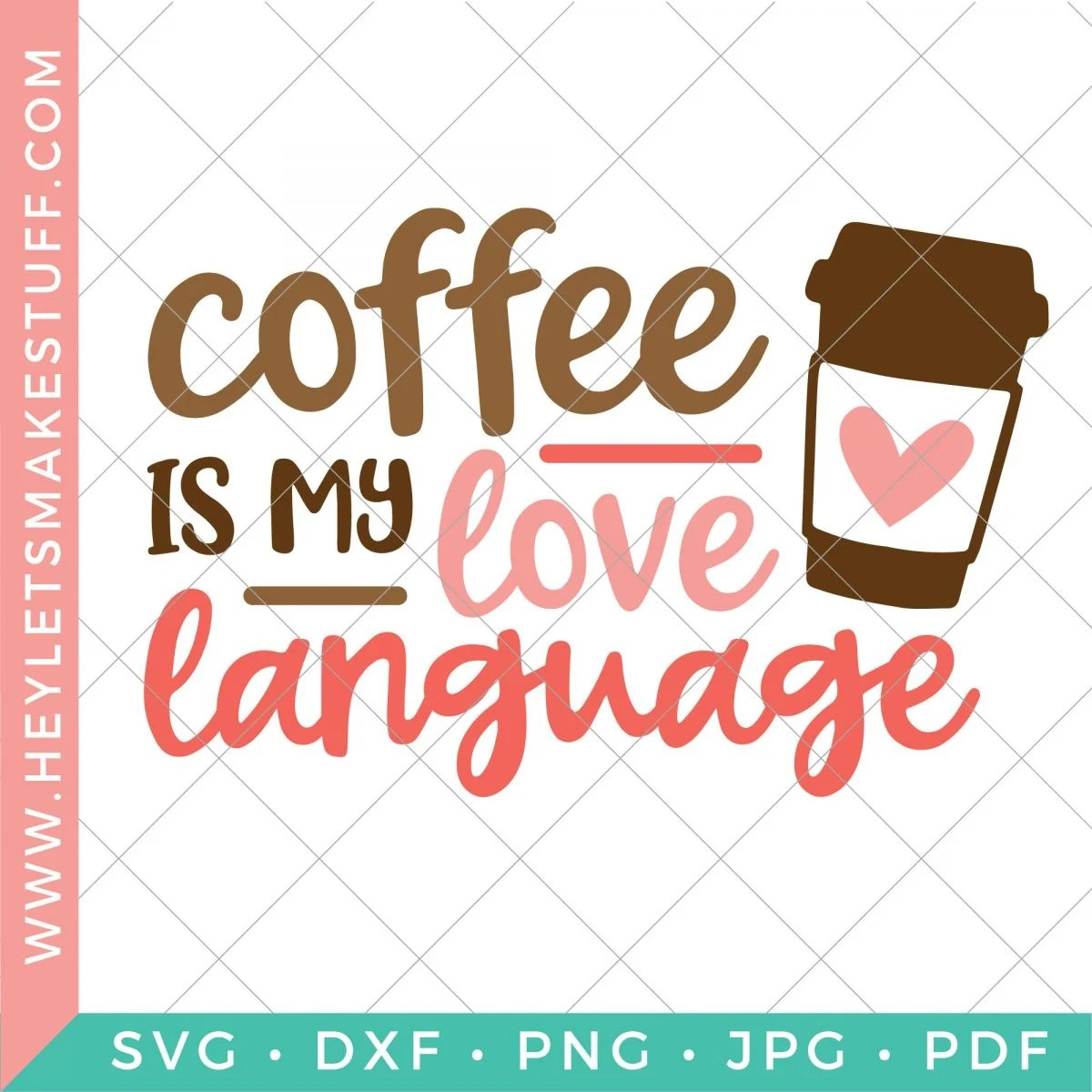 Coffee is My Love Language security template
