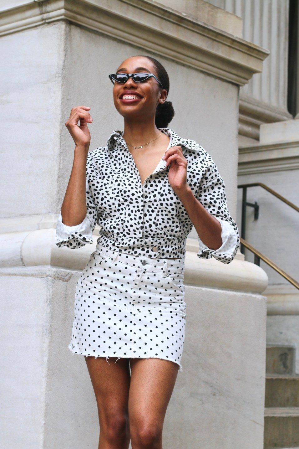 how to style polka dots3