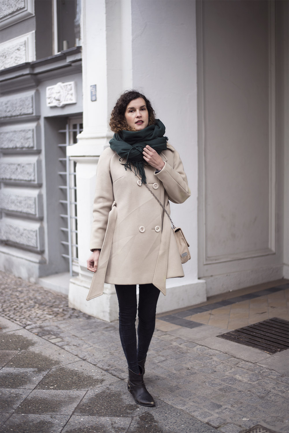 beige vintage coat heylilahey. Black Bedroom Furniture Sets. Home Design Ideas