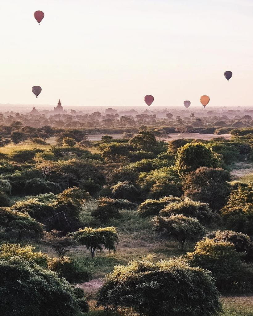 Can you guess where we are? In magical Bagan Myanmar!!!!hellip